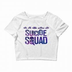 Suicide Squad Crop Top   Artistshot