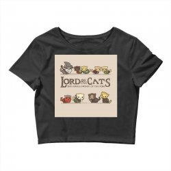 Lord Of The Cats Crop Top | Artistshot