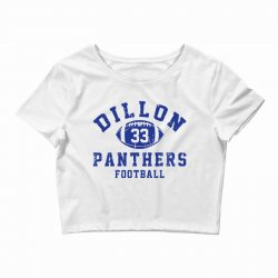 DILLON PANTHERS FOOTBALL Crop Top | Artistshot