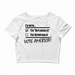 Deplorables America Crop Top | Artistshot