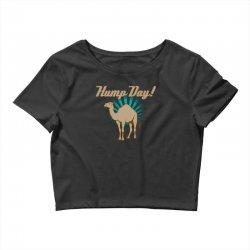 funny hump day camel Crop Top   Artistshot