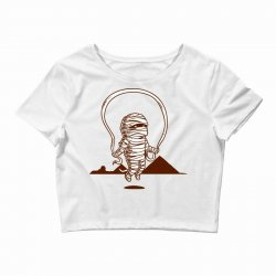Funny Mummy Sport Crop Top | Artistshot