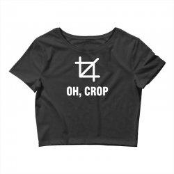 funny camera shirt photographer Crop Top | Artistshot