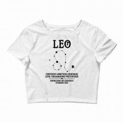 Leo Zodiac Sign Crop Top | Artistshot