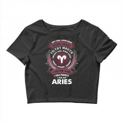 I Never Said I Was Perfect I Am An Aries Crop Top | Artistshot