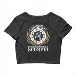 Scorpio Women Crop Top   Artistshot