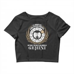 Gemini Women Crop Top | Artistshot