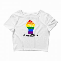 Love Wins 12th 2016 - Orlando Strong Crop Top | Artistshot
