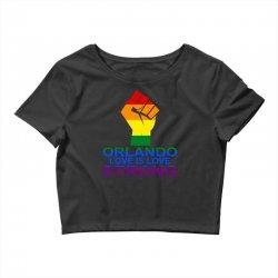 Love Is Love, Orlando Strong Crop Top | Artistshot