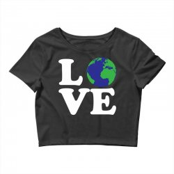 Love World Crop Top | Artistshot