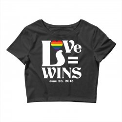 Love Wins Crop Top | Artistshot