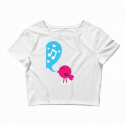 Love Bird Crop Top | Artistshot