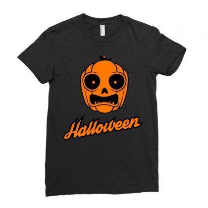 Halloween Ladies Fitted T-shirt Designed By Sbm052017