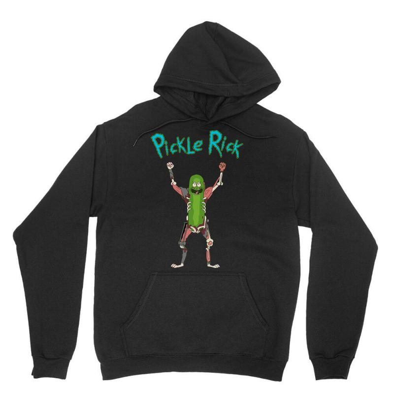 9046676a643 Custom Pickle Rick Unisex Hoodie By Killakam - Artistshot