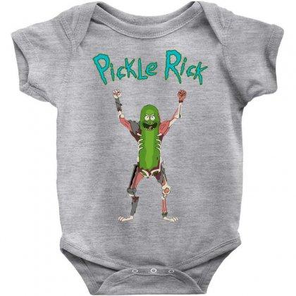 Pickle Rick Baby Bodysuit