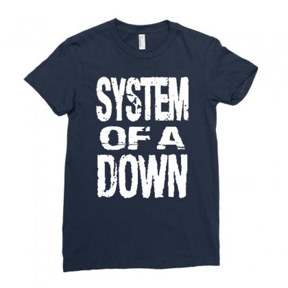System Of A Down Soad Ladies Fitted T-shirt Designed By Mdk Art