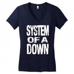 system of a down soad Women's V-Neck T-Shirt | Artistshot