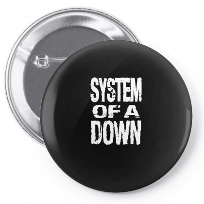 System Of A Down Soad Pin-back Button Designed By Mdk Art