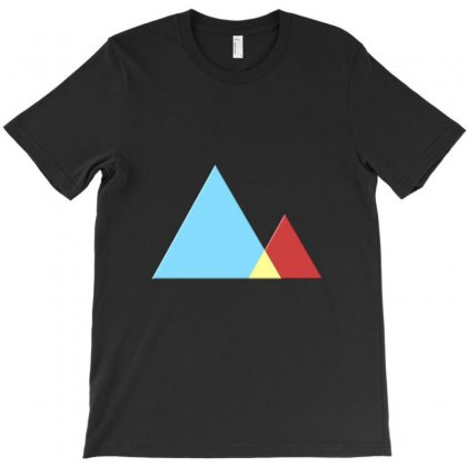 Mountains T-shirt Designed By Mdk Art