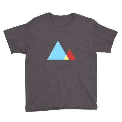 Mountains Youth Tee Designed By Mdk Art