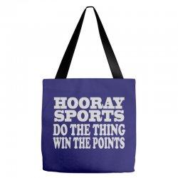 hooray sports win points Tote Bags | Artistshot