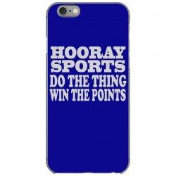 hooray sports win points iPhone 6/6s Case | Artistshot
