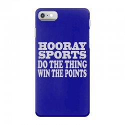 hooray sports win points iPhone 7 Case | Artistshot