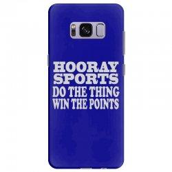 hooray sports win points Samsung Galaxy S8 Plus Case | Artistshot