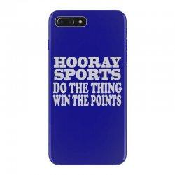 hooray sports win points iPhone 7 Plus Case | Artistshot