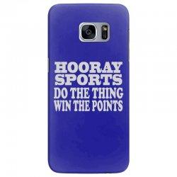 hooray sports win points Samsung Galaxy S7 Edge Case | Artistshot