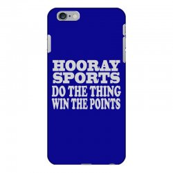 hooray sports win points iPhone 6 Plus/6s Plus Case | Artistshot