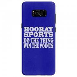 hooray sports win points Samsung Galaxy S8 Case | Artistshot