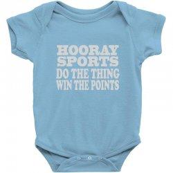hooray sports win points Baby Bodysuit | Artistshot