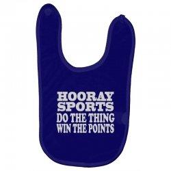 hooray sports win points Baby Bibs | Artistshot