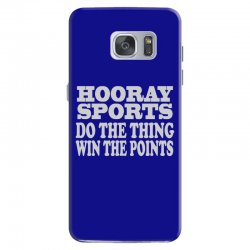 hooray sports win points Samsung Galaxy S7 Case | Artistshot