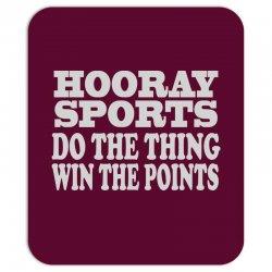 hooray sports win points Mousepad | Artistshot