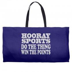 hooray sports win points Weekender Totes | Artistshot