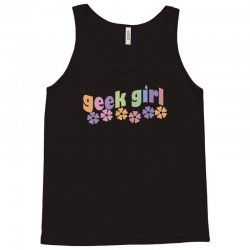geek girl daisies Tank Top | Artistshot
