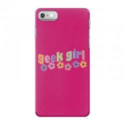 geek girl daisies iPhone 7 Case | Artistshot