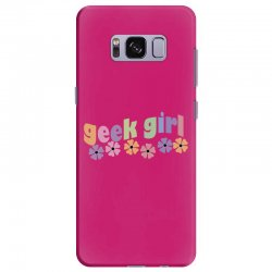 geek girl daisies Samsung Galaxy S8 Plus Case | Artistshot