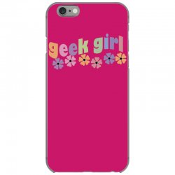 geek girl daisies iPhone 6/6s Case | Artistshot