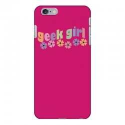 geek girl daisies iPhone 6 Plus/6s Plus Case | Artistshot
