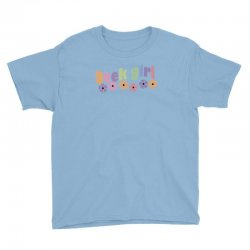 geek girl daisies Youth Tee | Artistshot