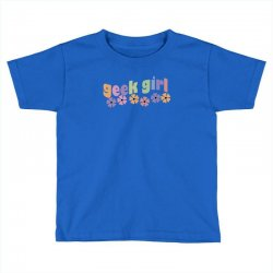 geek girl daisies Toddler T-shirt | Artistshot