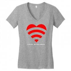 love broadcast Women's V-Neck T-Shirt | Artistshot