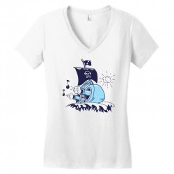 musical ship Women's V-Neck T-Shirt | Artistshot