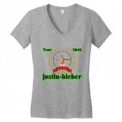 tour 2016 Women's V-Neck T-Shirt | Artistshot