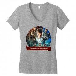 stranger things1 Women's V-Neck T-Shirt | Artistshot