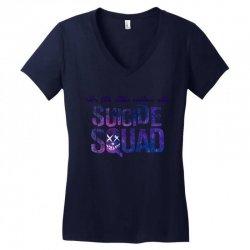 Suicide Squad Women's V-Neck T-Shirt   Artistshot