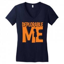 Deprolabe Me Women's V-Neck T-Shirt   Artistshot